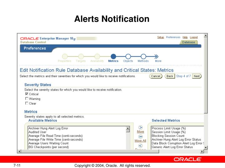 Alerts Notification