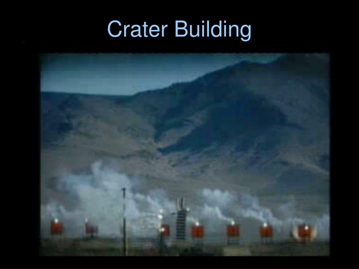 Crater Building
