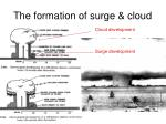 the formation of surge cloud