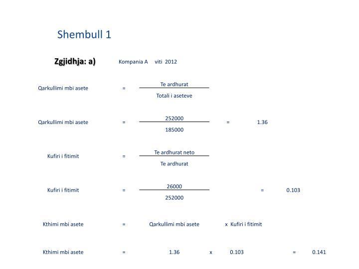 Shembull