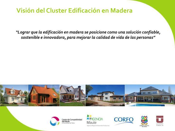 Visión del Cluster Edificación en Madera