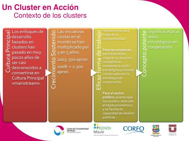 Un Cluster en Acción