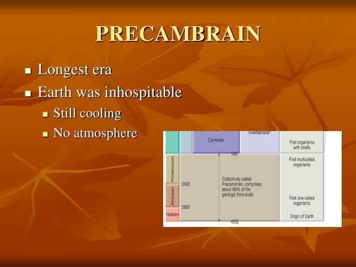 PRECAMBRAIN