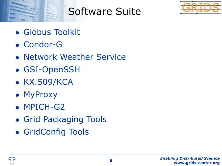 Software Suite