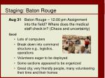 staging baton rouge