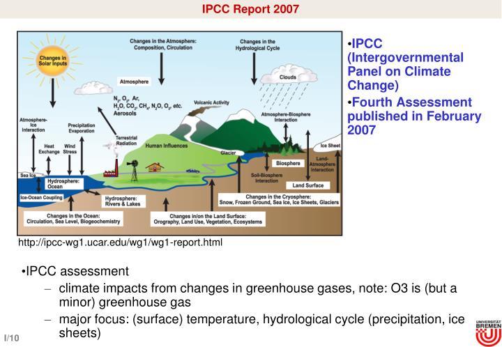 IPCC Report 2007