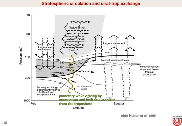 Stratospheric circulation