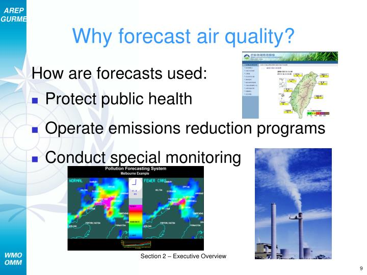 Why forecast air quality?