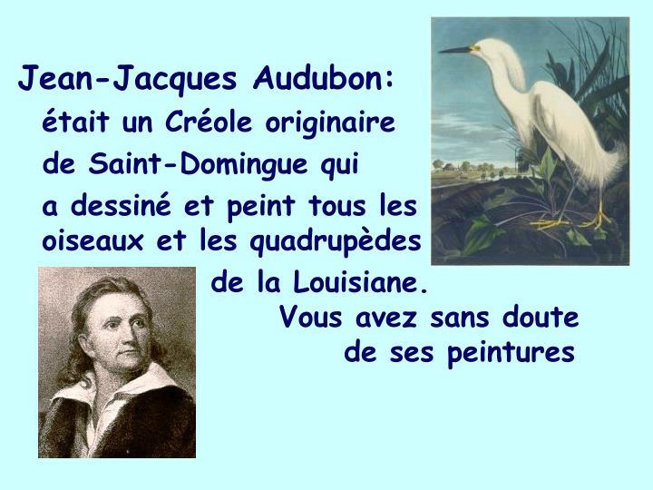 Jean-Jacques Audubon: