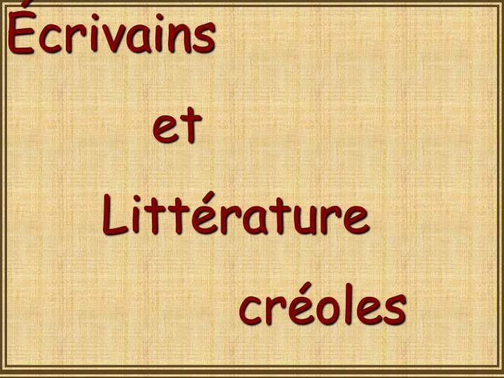 crivains