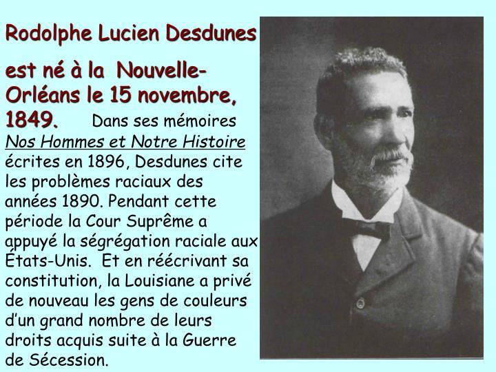Rodolphe Lucien Desdunes