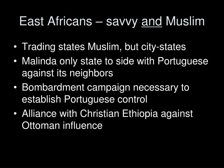 East Africans – savvy