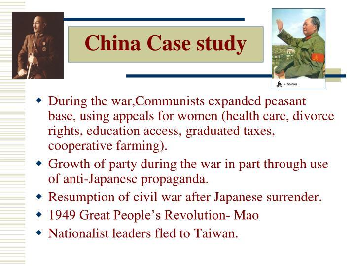 China Case study