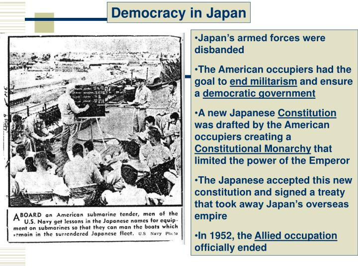 Democracy in Japan