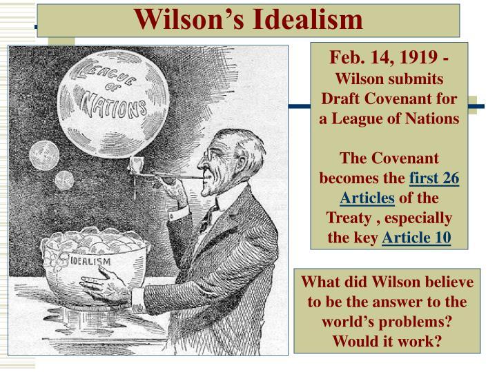 Wilson's Idealism