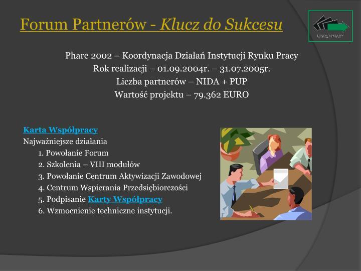 Forum Partnerów -