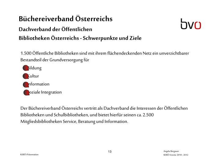 Büchereiverband Österreichs