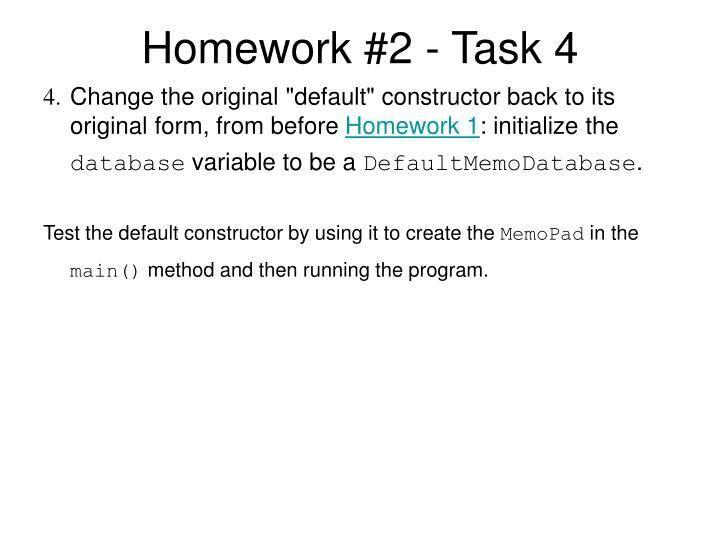 Homework #2 - Task 4