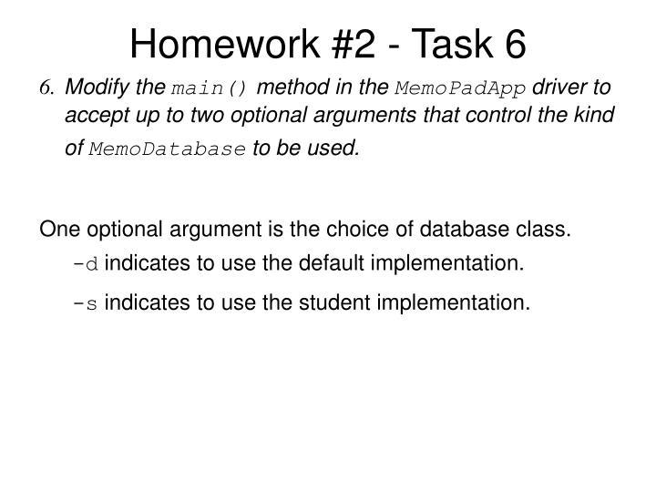 Homework #2 - Task 6