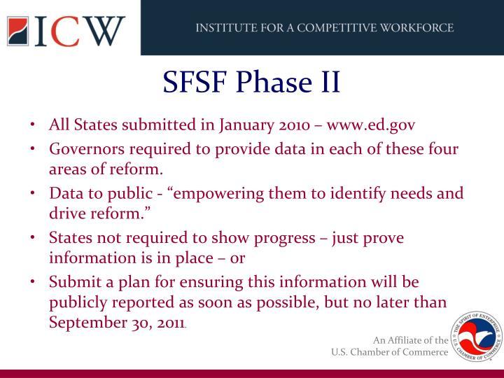 SFSF Phase II