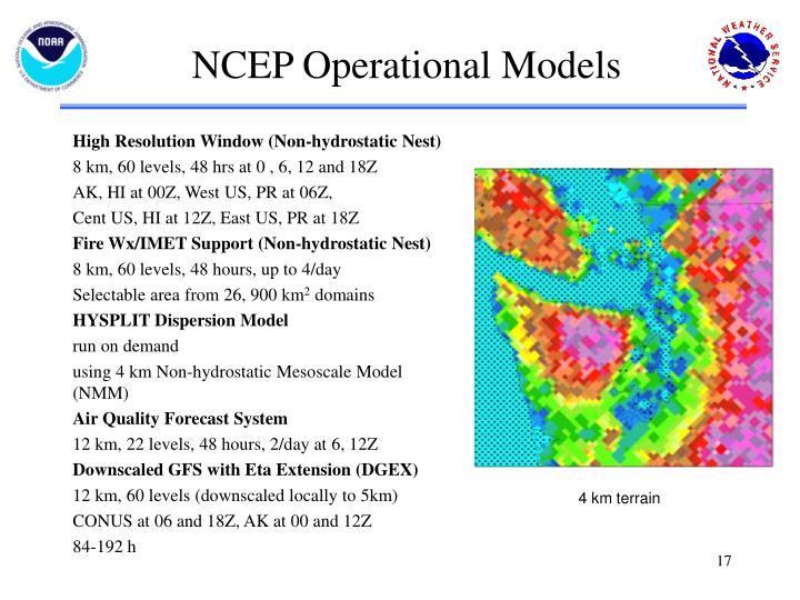 NCEP Operational Models