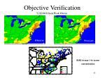 objective verification