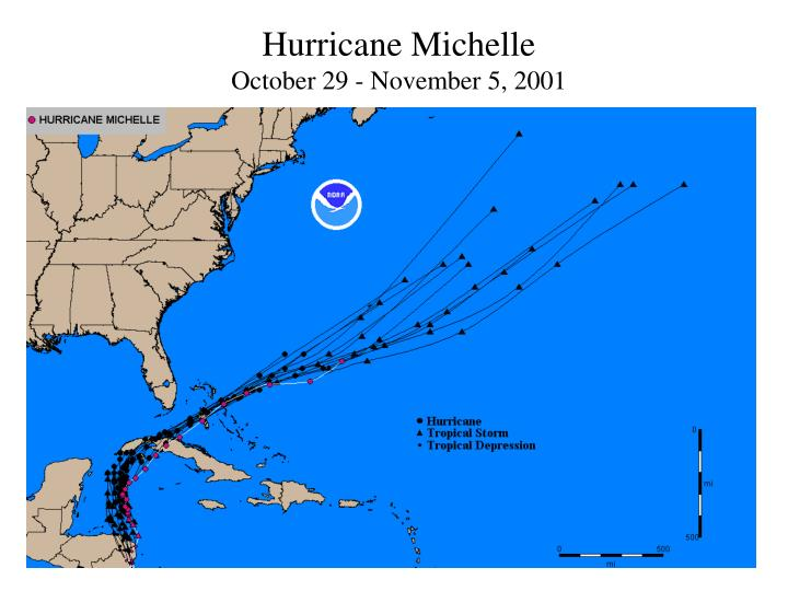 Hurricane Michelle
