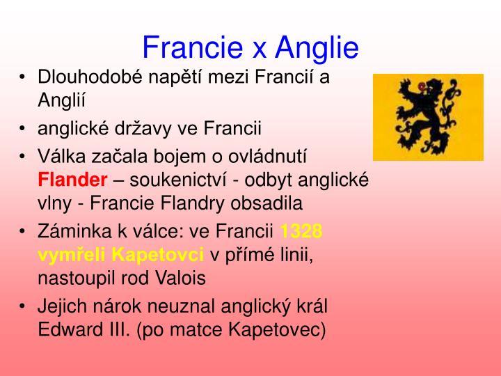 Francie x Anglie