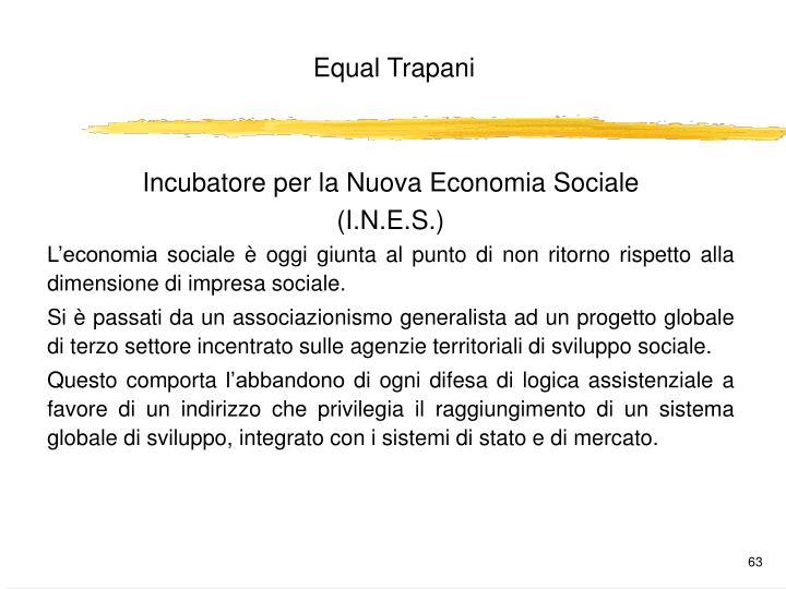 Incubatore per la Nuova Economia Sociale