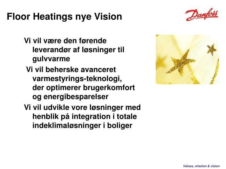 Floor Heatings nye Vision