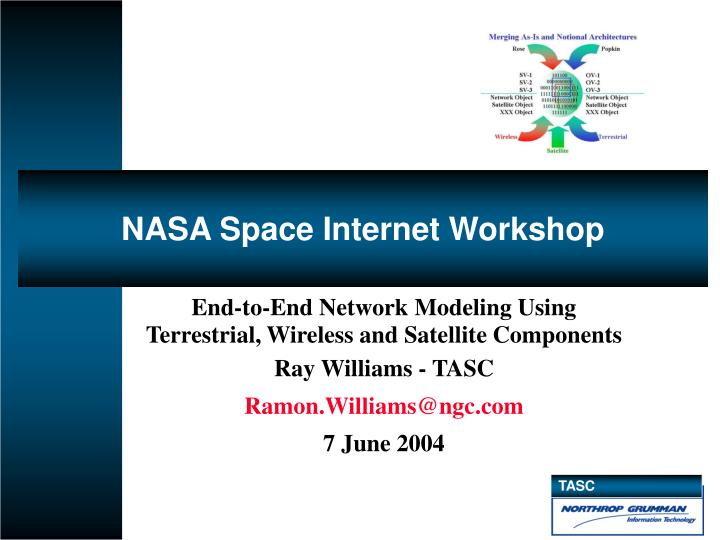 Nasa space internet workshop