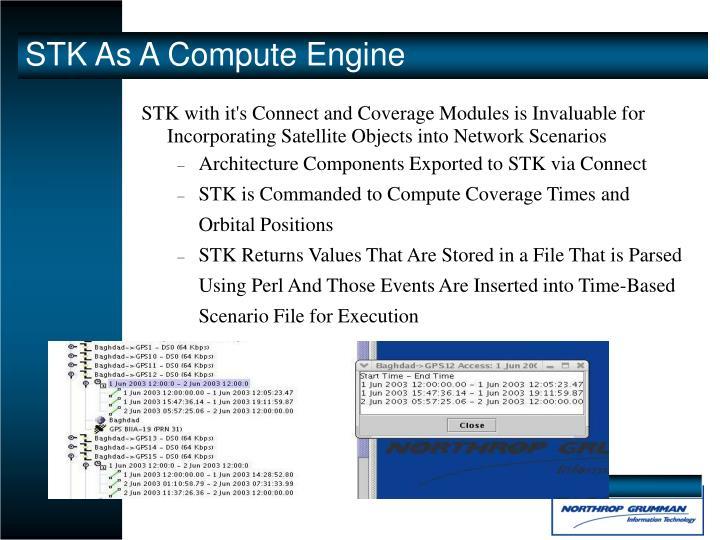 STK As A Compute Engine