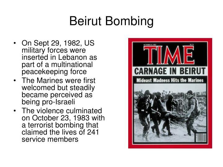 Beirut Bombing