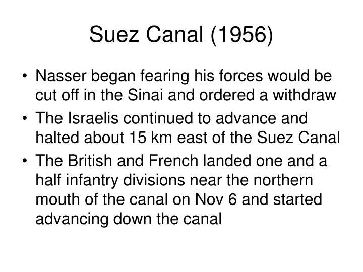 Suez Canal (1956)