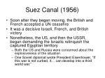 suez canal 19564