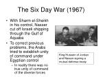 the six day war 19671