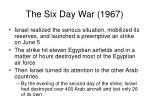 the six day war 19672