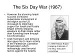 the six day war 19675
