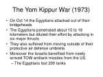 the yom kippur war 19734