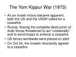 the yom kippur war 19736