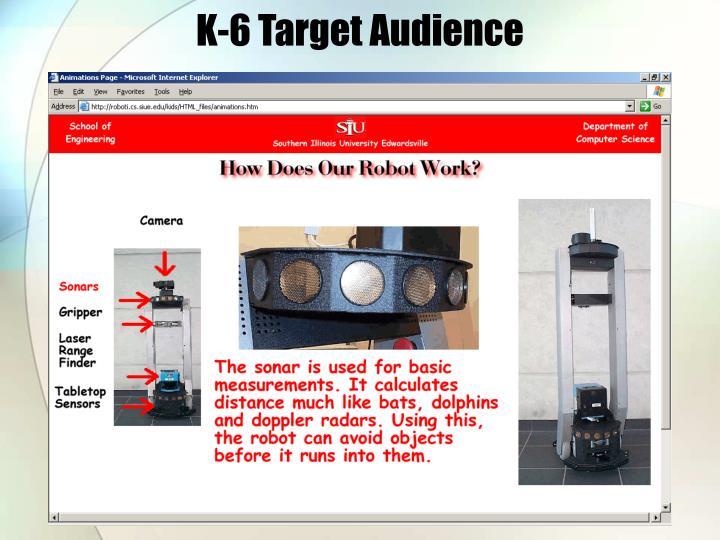 K-6 Target Audience