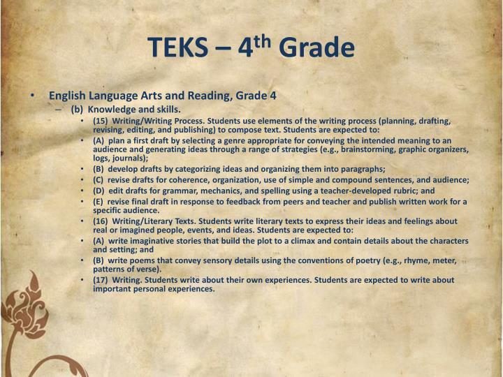 TEKS – 4