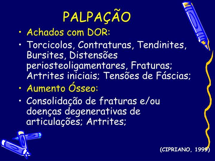 PALPAÇÃO