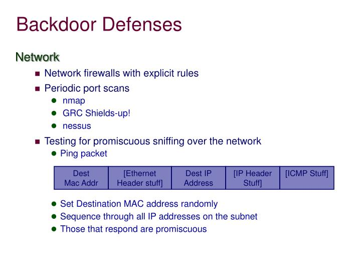 Backdoor Defenses