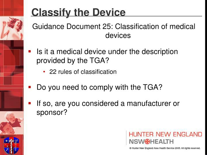 Classify the Device