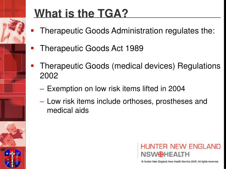 What is the TGA?
