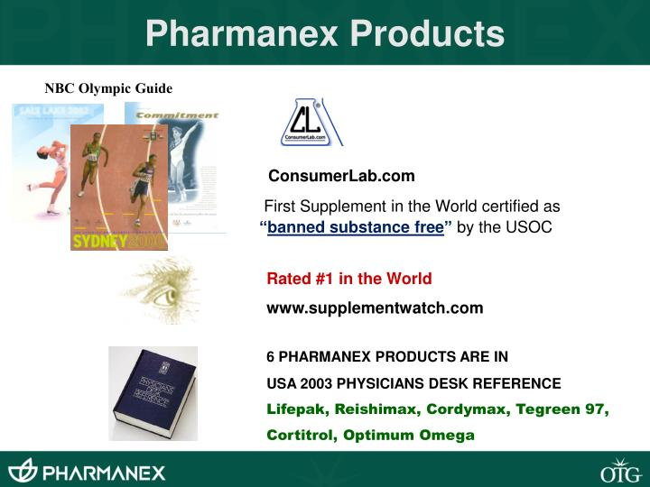 Pharmanex Products
