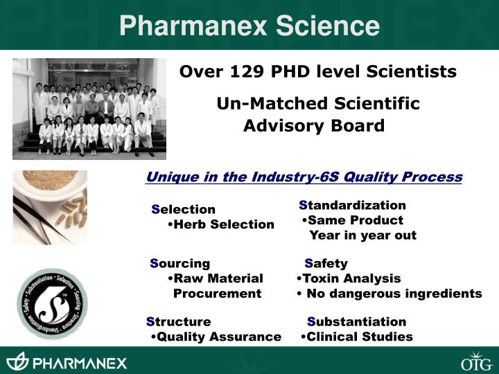 Pharmanex Science