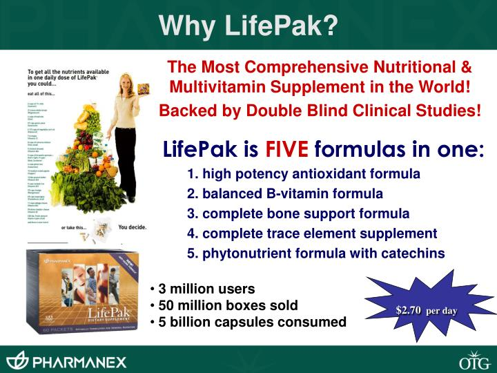 Why LifePak?
