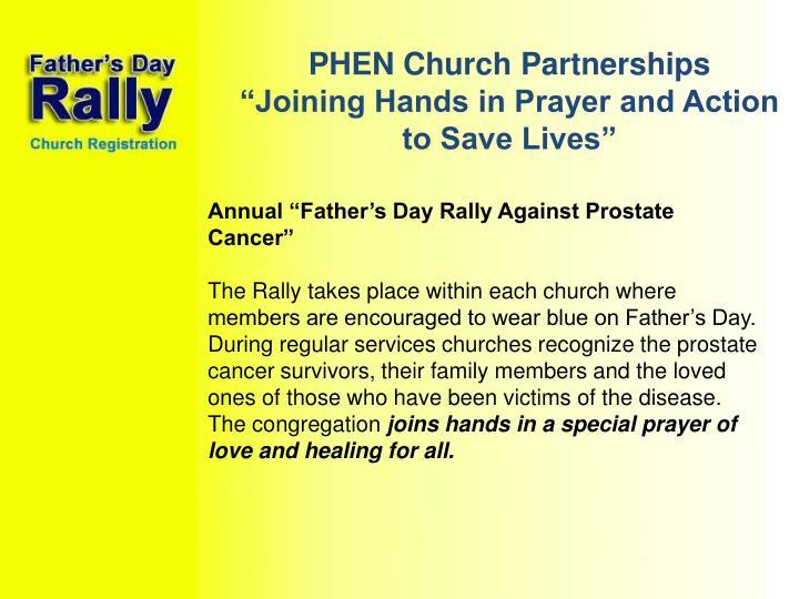 PHEN Church Partnerships